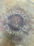 Vintage Brass Spitoon Rochester Stamping Co. No 2237