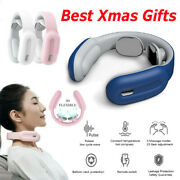 Xmas Gifts Electric Neck Massager Shoulder Relax Heating Massage Relief Pain Us