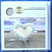 Canada 2012 - Wedding Gift Set - Special Double Ring Quarter 25 Cents