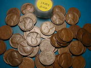 1925-s Lincoln Wheat Cent Roll 50 Nice Coins