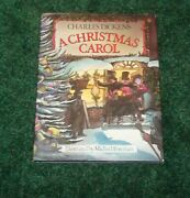 Charles Dickens A Christmas Carol 1983 First Edition U.s. Illustrated M. Foreman