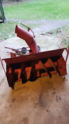 36 Snow Thrower For Simplicity Tractor Oem 990175