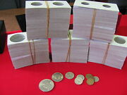 100- Assorted Size- 2x2 -cardboard/mylar Coin Holders- Free Shipping