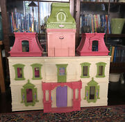 Fisher Price Loving Family Grand Mansion Victorian Dollhouse Rare
