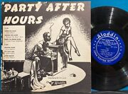 Party After Hoursrare 1951 10 Aladdin 703wynonie Harrisamos Milburnwaterfor