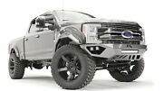 Fab Fours Open Fender Vengeance Front Bumper - No Guard For 17-20 F-250 / F-350