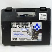Eurotech Costco Alloy Tire Snow Chains Chains 358205 Ea 1610
