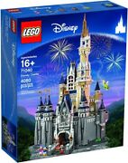 Limited Release Brand New/unopened Disney Castle Playset By Lego 71040