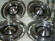 1960and039s Buick Lesabre Hubcaps Lot Of 4. 15 Inch