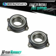 2pc Rear Wheel Bearing Module For 2003-2014 Mercedes-benz C250 C300 E350 And More