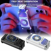 Mobile Phone Cooler Semiconductor Radiator Cooling Fan Holder Mute Stretchable