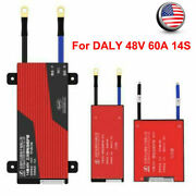 For Daly 48v 60a 14s Li-ion Lipo Lithium Battery Protection Board Bms Balance Us