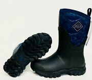 Muck Arctic Sport Ii As2m-201 Black Navy Mid Women's Extreme Snow Winter Boots
