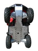 Trx680 Rincon Fourtrax Frame Skid Plate Under Body Chassis A-arm Protect Alloy