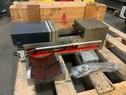 Unused Homge Hpv-7 Pneumatic Vise 7 Wide 7.28 Opening 3500kg Clamp Force Cnc
