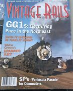 Vintage Lot Of 11 Vintage Rails Magazines Trains Railroad First Issue 1985