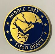 Sought After-ncis Special Agent-middle East Field Office-police Challenge Coin
