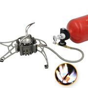 Portable Oil Gas Multi Fuel Stoves Outdoor Stainless Steel Petrol Stove Burners