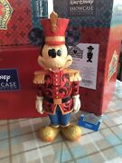 V Rare Disney Traditions And039mickey Mouse Large/moveable Nutcracker/salutations 10