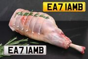 Eat Lamb Ea71 Amb Beef Butcher Sheep Farm Private Plate Cherished Number