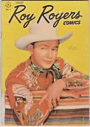 Roy Rogers Comics 1 Dell 1948 Dale Evans - Trigger - Bullet - Photo Cover