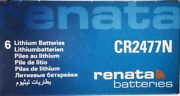 24 4 Boxes Of 6secure Cards Renata Cr2477n Lithium 3v Batteries Exp 08/2027