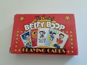 Vtg 1998 The Best Of Betty Boop Playing Cards, New In Box, 1 Joker