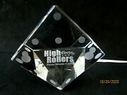Coors High Rollers 2002 Paris/monte Carlo Dice Paperweight