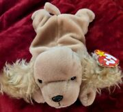 Ty Beanie Baby Spunky The Cocker Spaniel 1997 Retired With Tag Errors Pellets