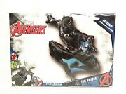 Marvel Black Panther Foil Party Balloon, 32 Supershape Shaped Avengers T'challa