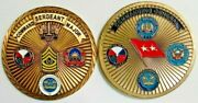 Commander Csm Us Army Test Evaluation Command Atec Challenge Coin Mg General Lot