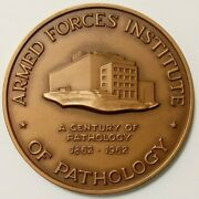 Armed Forces Institute Of Pathology Afip Table Medal Cased Insert Named Dated