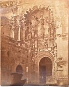 Albumen Print. Printing 11 13/16x15in By Charles Clifford, Church To Portugal
