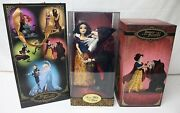Disney Fairytale Designer Limited Edition Snow White And The Witch Hag Doll /6000
