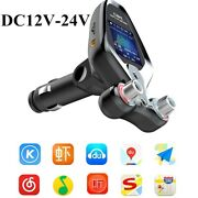 Car Fm Bluetooth Transmitter Mp3 Player Hands Free Radio Adapter Kit Usb Charger