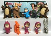 Series New Kinder Surprise 2013 Masha And The Bear 1 Tr157-tr166