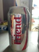 2 Diet Coke Factory Error Unopened Empty Cans 1 W/dents 1 W/o Dents
