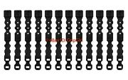 12 Pack/lot Tactical Tailor Fight Light Short Black Malice Clips Molle Kydex Otw