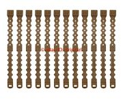 12 Pack/lot Tactical Tailor Fight Light Long Coyote Malice Clips Molle Kydex Otw