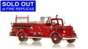 Fdny 1947 Mack L Engine 38 Bronx 1/50 Fire Replicas Fr078-38 New Sold Out