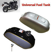 Motorcycle Cafe Racer Steel Fuel Gas Tankandcap Switch Part Fit For Auto Benly50s