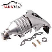 For Honda Civic Exhaust Manifold W/catalytic Converter For 01 02-05 1.7l L4 Sohc