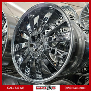 22x10.5 Gianelle 5x115 Chrome Wheel And Tire Package