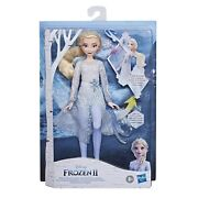 New Disney Frozen 2 Magical Discovery Elsa Doll Lights And Sounds
