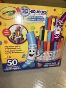 Bnwb Crayola Pip Squeaks Telescoping Marker Tower Assorted Colors 50 Markers