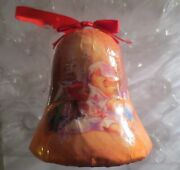 Disney Winnie The Pooh And Piglet Decoupage Bell Shaped Ornament