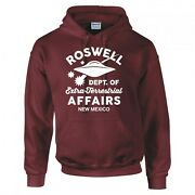 Funny Alien Roswell Dept. Of Extra Terrestrial Affairs Hoodie