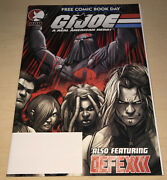 Gi Joe-defex Darkstalkers And Udon/ddp/free Comic Book Day/2005 Promo