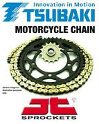 Tsubaki Mx-alpha Gold X-ring Chain And Jt Sprockets For Beta 390 Rs 15-16