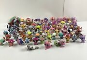 Littlest Pet Shop Huge Lot Of Over 100 Pets And Accessories Lps Dogs Cats Monkeys